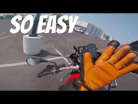 Wie man ein Motorrad gegensteuert | Einhanddemonstration ~ MotoJitsu – Sie …   – Motorcycle hair accessories