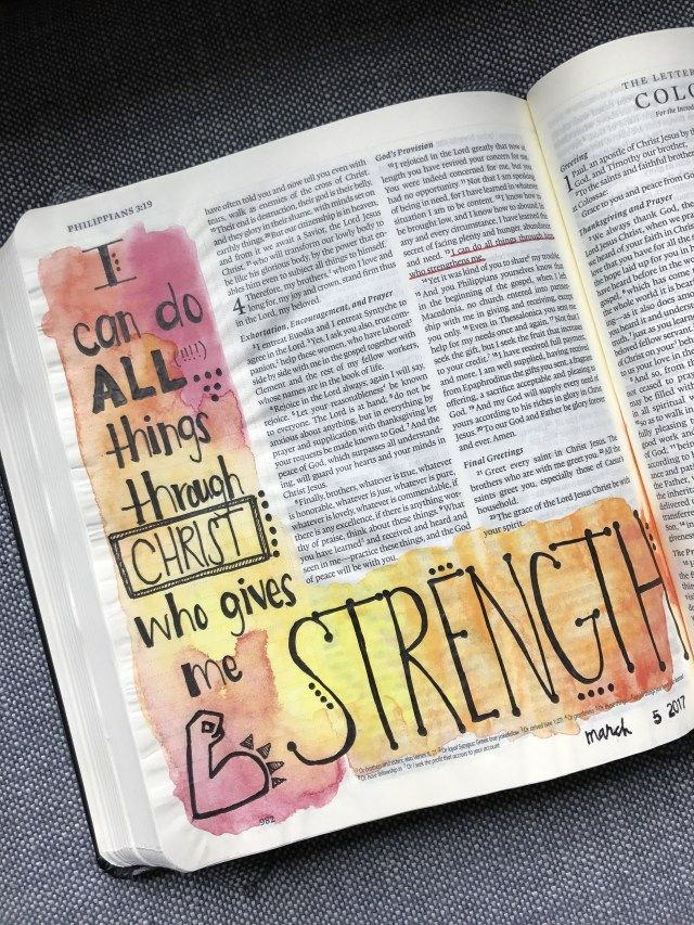 Bible Journaling for Beginners   One Mom and a Blog
