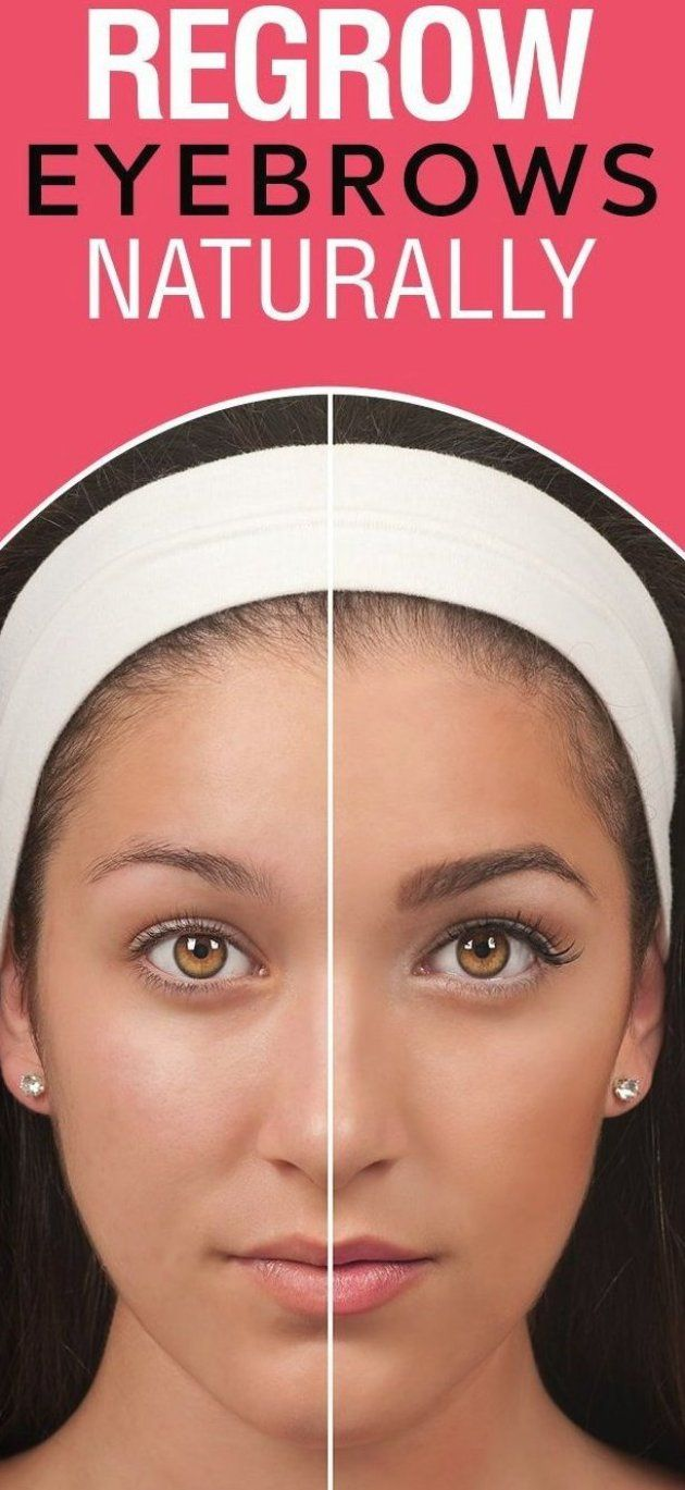 7 Ways To Regrow Eyebrows Naturally Do you have thinning ...
