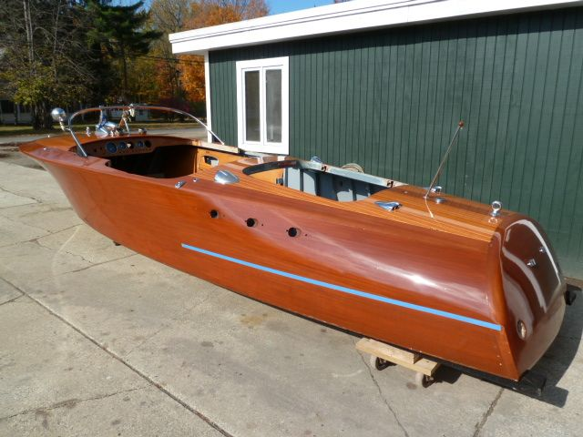 1965 Riva Super Ariston 23' foot with Riva-Chrysler 413 dual quad V8 engine premium restoration by Macatawa Bay Boat Works www.mbbw.com 269-857-4556