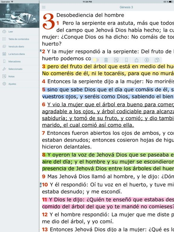 La Biblia Reina Valera en Audio Estudios Biblicos on the App Store