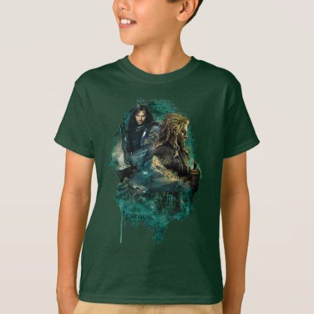 Kili & Fili Over Erebor T-Shirt - tap, personalize, buy right now!