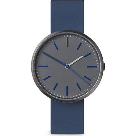 UNIFORM WARES 104 series wristwatch (Blue