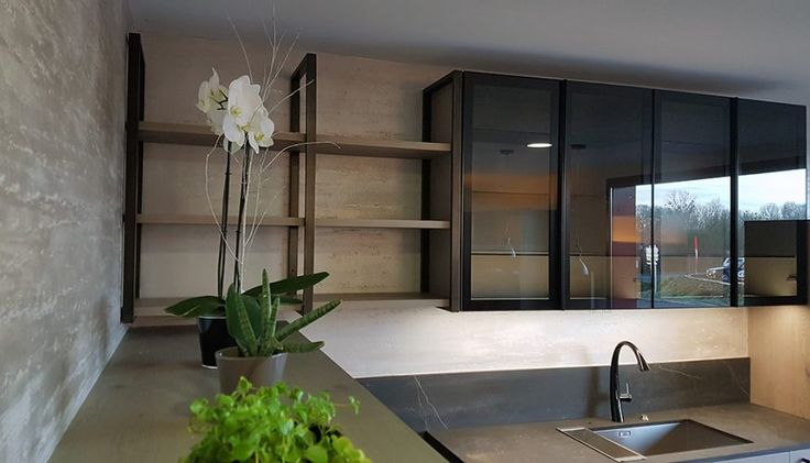 66 best Cuisines images on Pinterest Kitchen modern, Contemporary - Comment Installer Un Four Encastrable Dans Un Meuble