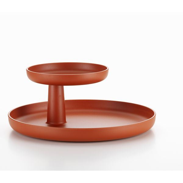 The Rotary Tray is a contemporary rendering of the classic etagere by Jasper Morrison.Thanks to its simple shape and subtle colours, the Rotary Tray complements any interior style and lends itself to many different uses.Whether in the kitchen or on the dining room table, in a bathroom or entryway, at the office or in a child's room: the Rotary Tray offers a decorative way to tidy up any space.Contact us now for help, for a personalised quote and to discuss savings for trade and volume…
