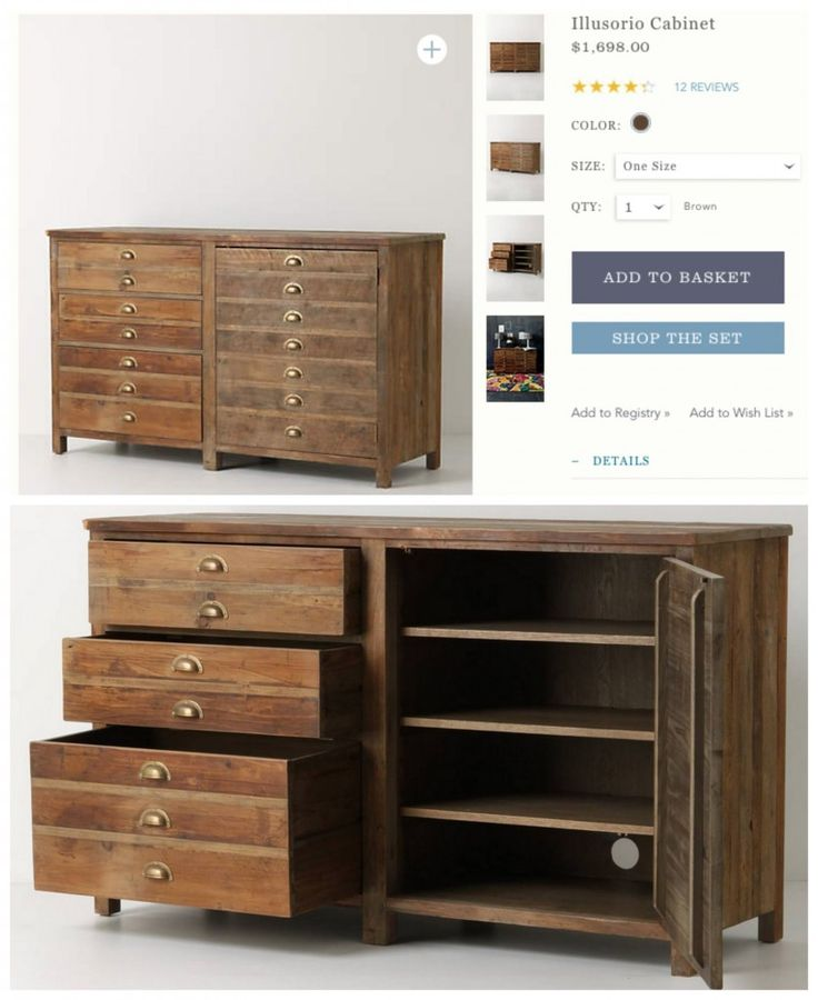 Best 25+ Industrial dresser ideas on Pinterest | Vintage ...