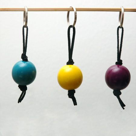 Keyrings in wood and leather....we carry DIY jewelry supplies (keyrings, leather, wood beads and more)...check us out at www.fizzypops.com.