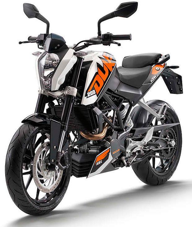 KTM DUKE 200 2014 Frente