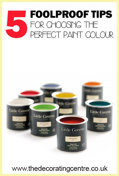 5 Foolproof Tips for Choosing the Perfect Paint Colour - The Decorating Centre