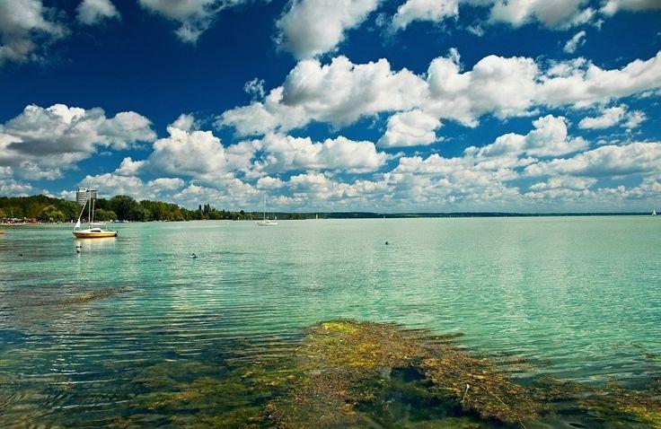 the lake balaton by - photo #7