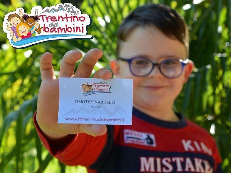 Avete già scaricato la vostra card del Trentino dei bambini?  È gratuita e permette di accedere ad una serie di vantaggi per i più piccoli sul territorio.  Per maggiori info: http://bit.ly/card-bimbi