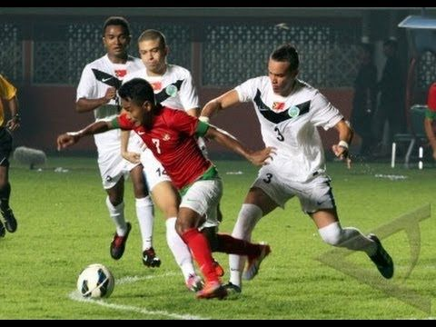 Indonesia U23 VS Timor Leste U23 ( 0 - 0 ) Friendly Match - 30 Oktober 2013