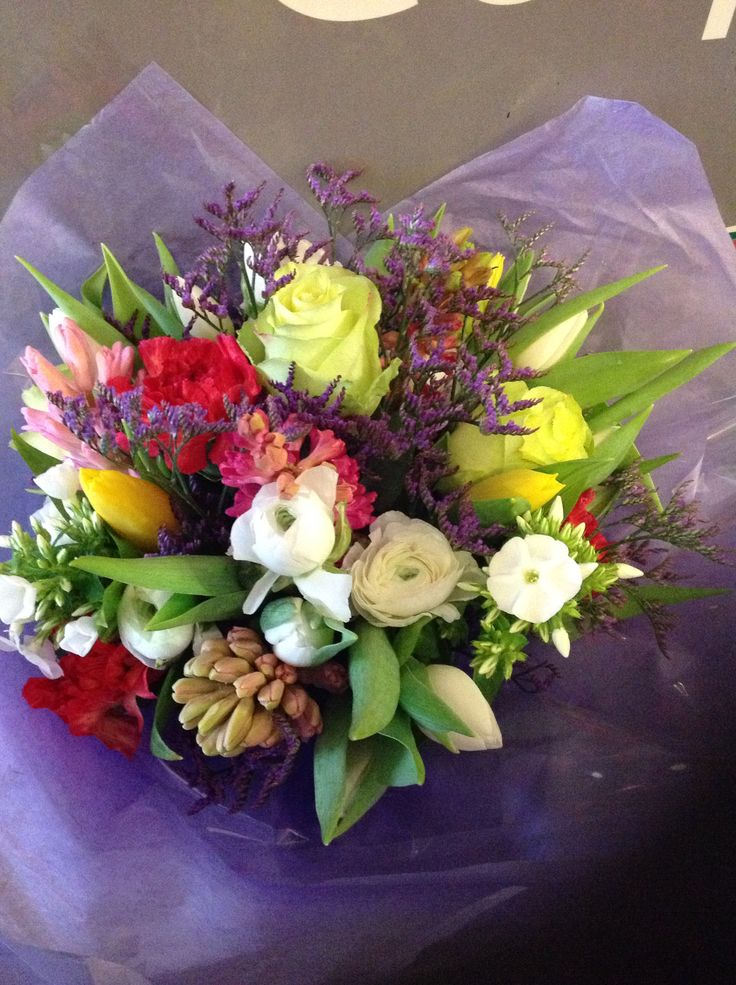 Spring bunch, Lotty's flowers Faversham Kent