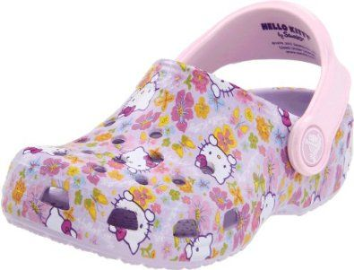 Crocs Hello Kitty Classic Clog (Toddler/Little Kid),