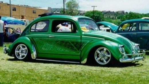 Lowered VW Bug | How to Lower a Volkswagen VW Beetle--THEY DON'T NEED TO B ANY LOWER. I LOVED MY BUG. I WISH I STILL HAD IT. AND THIS IS THE COLOR I WANTED MINE. I'M JEALOUS....MY FAV COLOR IS GREEN.