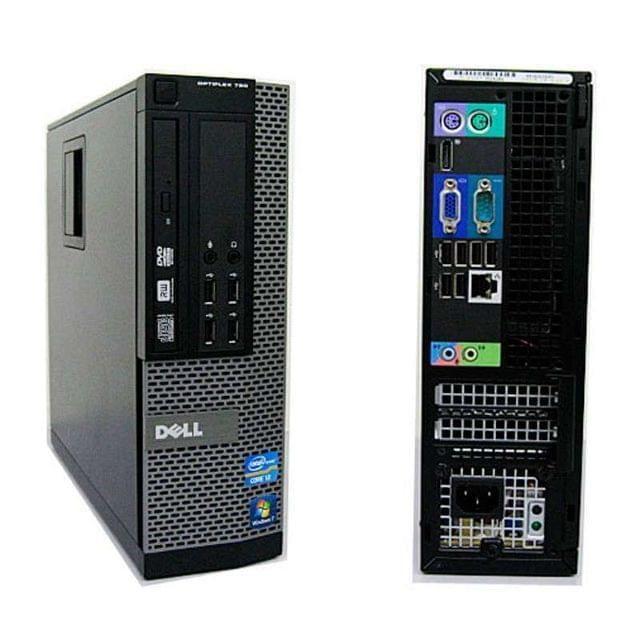 . Vendo ordenadores core i3 marca dell modelo gx790, intel core i3-2120 3.30ghz, 4 gb memoria ddr3, 250 gb disco duro, optico dvd-rom, windows 7 professional, intel hd grafics 2000, conexiones 10 usb - rj45 - serie - vga - ps2 - digital port, los productos son de ocasi�n con 1 a�o de garant�a. gastos de envi� no incluidos.