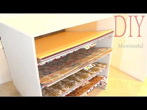 36 best muebles carton images on pinterest cardboard - Organizador de papeles ...