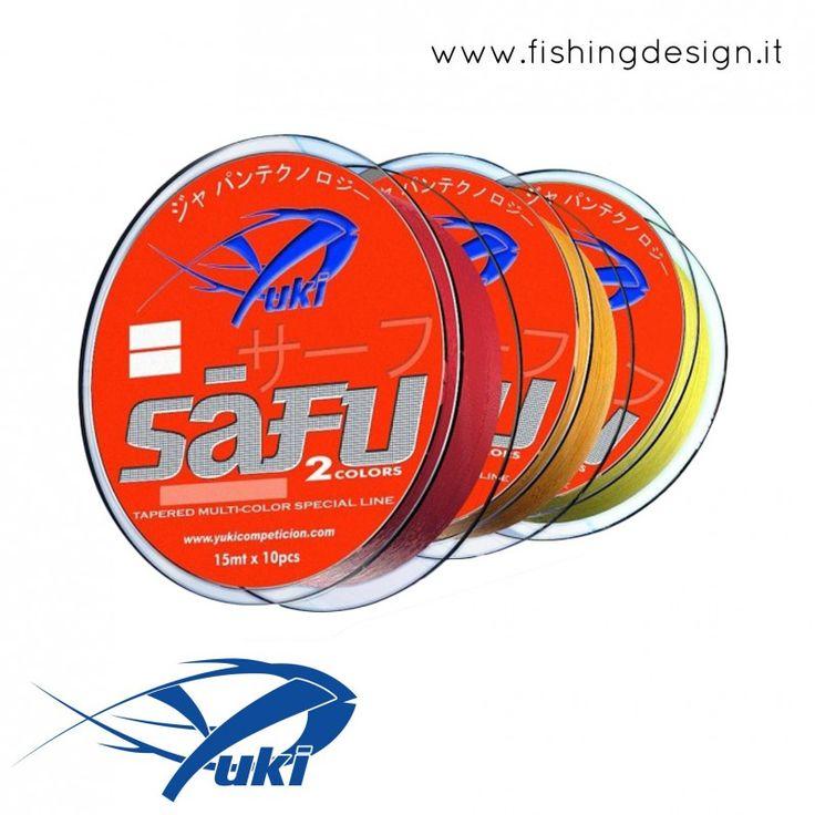 SAFU SHOCK LEADER (ARANCIO) - YUKI COMPETICION - FISHING DESIGN SHOP