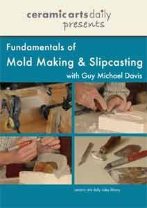 Link to short DVD on making cottles for slip casting - Guy Michael Davis from Ceramic Arts Daily Presents Series
