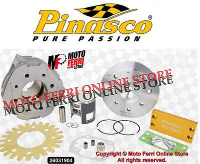 MF0390 - KIT CILINDRO PINASCO 162CC MASTER 63 ALLUMINIO PIAGGIO VESPA T5 125 2T | eBay