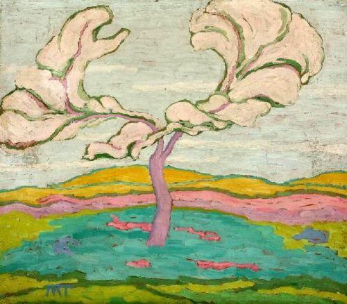 Mattis-Teutsch, Janos (1884-1960) - Cherry Blossoms