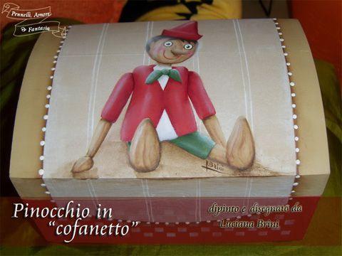 pinocchio in cofanetto - luciana brini