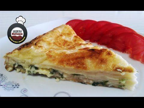 Cankurtaran Böreği - Pratik Tava Böreği - YouTube