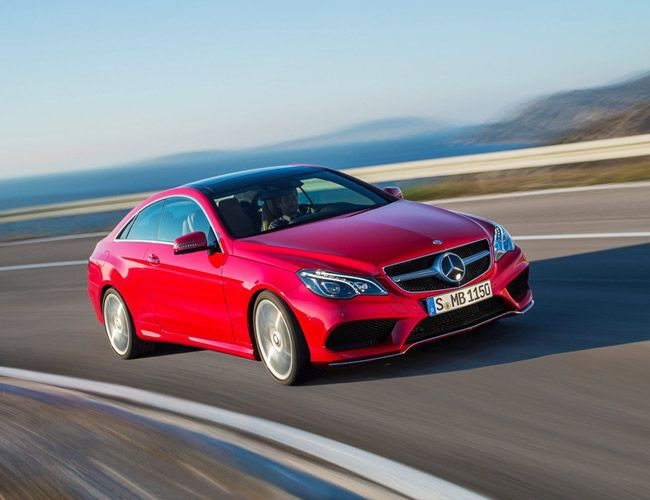 Maybe next year's Christmas present. :) | 2014 Mercedes-Benz E-Class Coupe