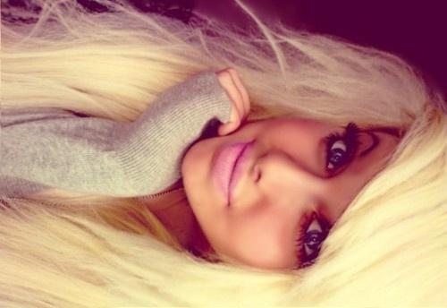 barbie hair [=