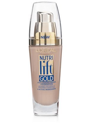 L'Oreal Nutri Lift Gold Anti-Aging Foundation: rated 4.5 out of 5 by MakeupAlley.com members. Read 6 member reviews.