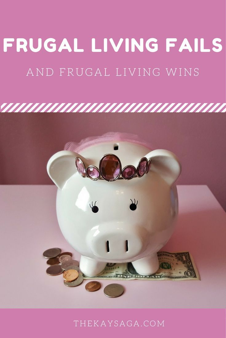 Being frugal can be very difficult.Today, I am teaming up with a few frugal living/personal finance bloggers to share our frugal fails and frugal wins.