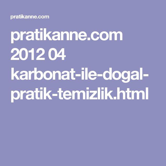 pratikanne.com 2012 04 karbonat-ile-dogal-pratik-temizlik.html