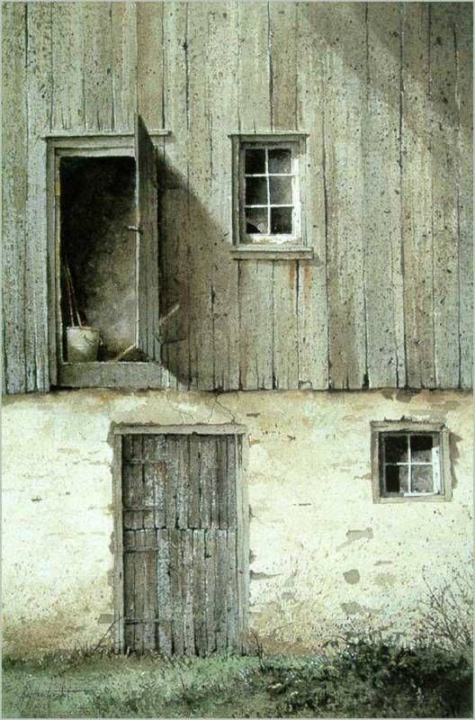 Ray Hendershot & 66 best Jamison Philip - Wyeth landscape paintings images on ...
