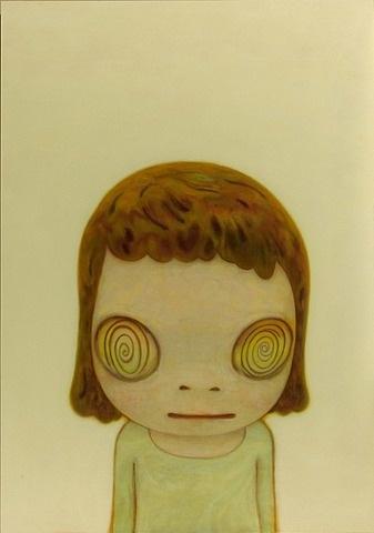 spiral eyes | yoshitomo nara
