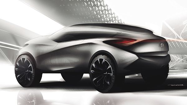 Crossover Nissan Concept by Geminiano Design, via Behance