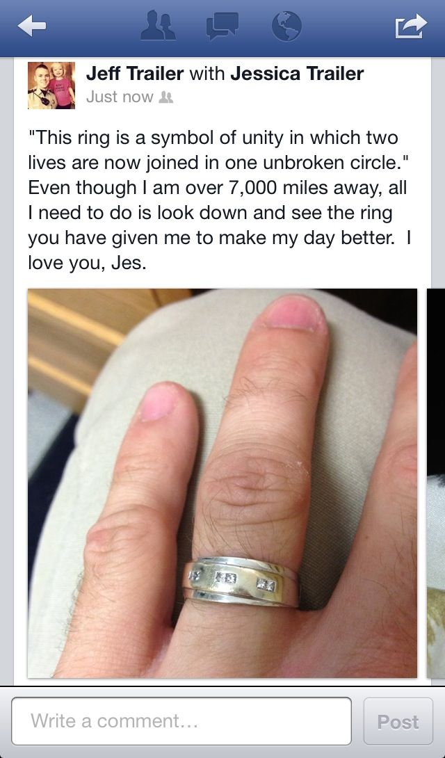 The true meaning of love<3 #deployment #longdistancerelationship #marriage
