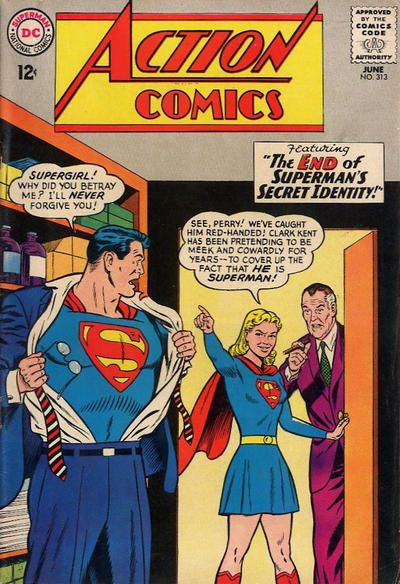 Action Comics #313  June 1964 First Issue  #1 - June 1938     Last  #904 - October 2011
