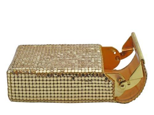 Glomesh 1970's gold mesh cigarette case | Atelier Mayer