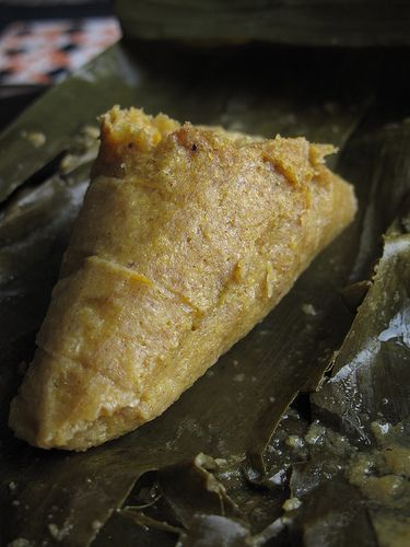 Steamed Plantain Pudding  #Nigerian Food try with pan seared catfish and a little stew... yummmmm