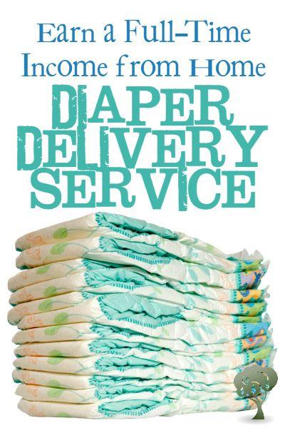 Unique Home Business Idea: Starting a diaper delivery service