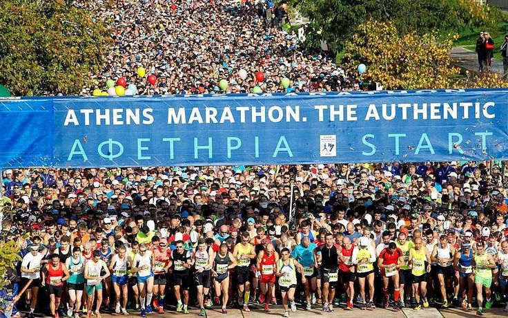 Heres to everyone participating in todays Athens Classical Marathon and all other runs walks & efforts - you are stars!  ____________________________________ @athensauthenticmarathon #AMA2017 #AthensMarathon2017 #AthensMarathon #athensclassicmarathon #marathonrunners #runners #athensmarathontheauthentic