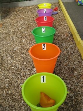 diy bean bag toss games -highest total of 3 tosses is winner - what about a reigning winner?