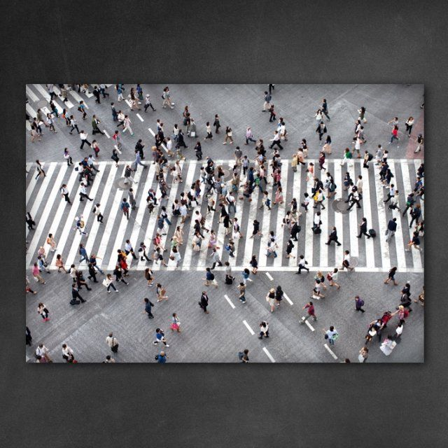 Obraz na płótnie People 100 x 70 x 2