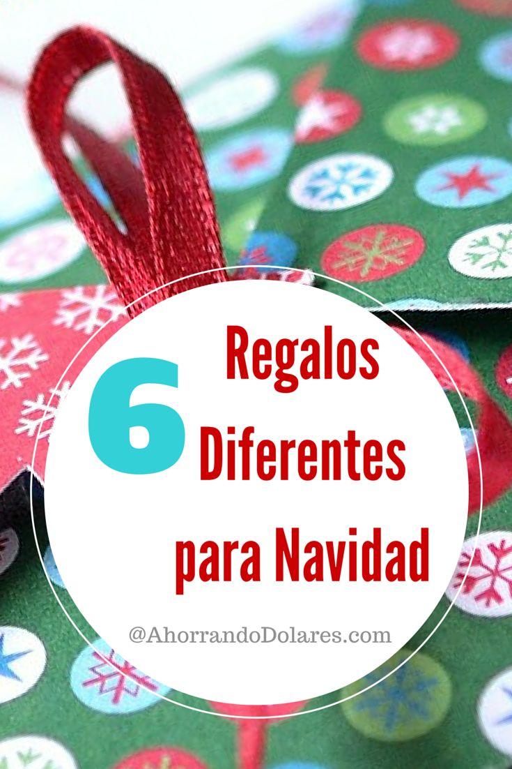 Ideas para regalar en Navidad. 6 regalos diferentes para Navidad.