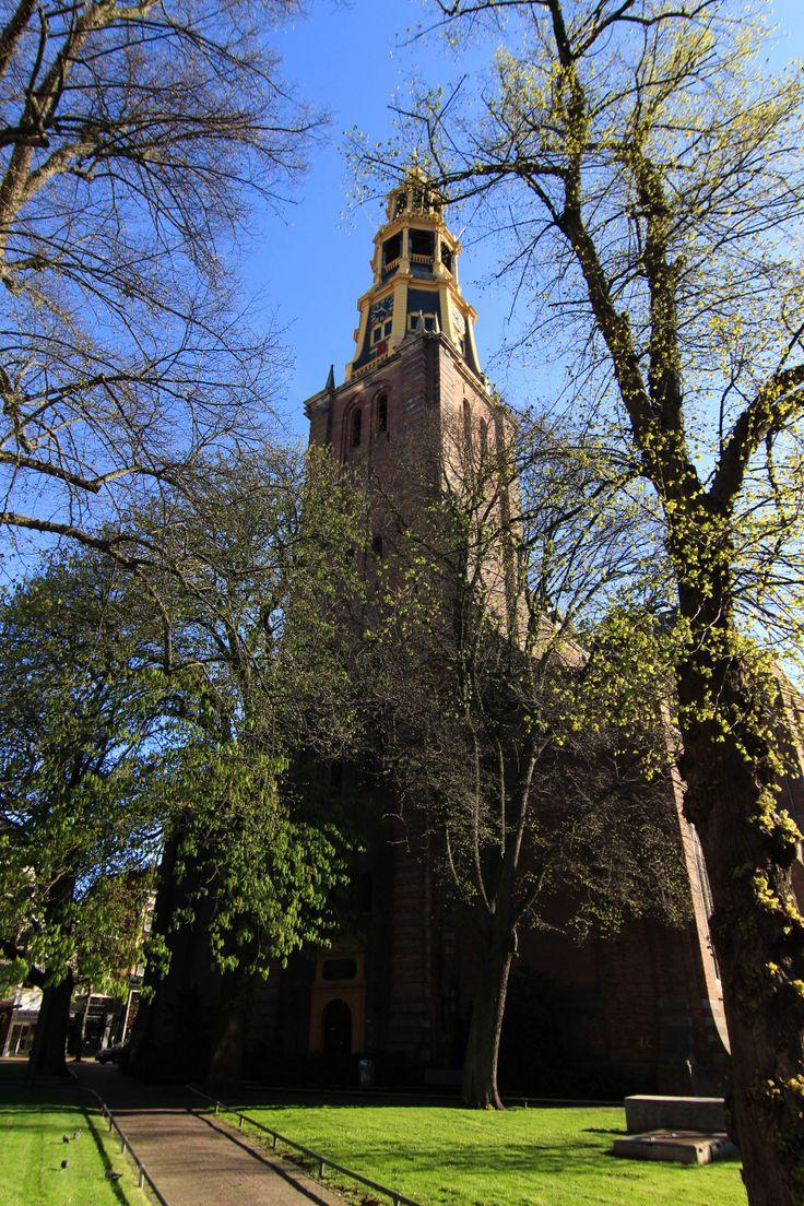 De A-kerk in Groningen is één van de meest herkenbare en karakteristieke oude gebouwen van de stad.