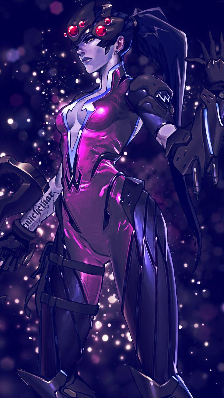 Overwatch Widowmaker Smartphone Wallpaper 1080x1920 Animation