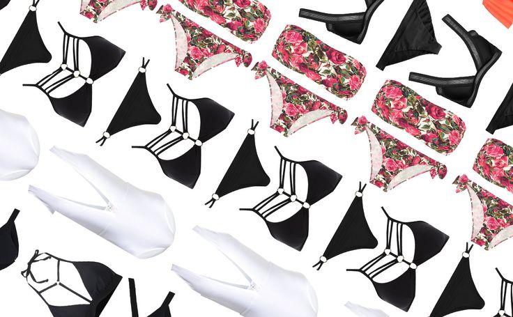Badmode 2017: 25 snygga bikinis och baddräkter