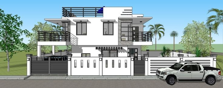 Modern House Design New Home Construction Building Permits