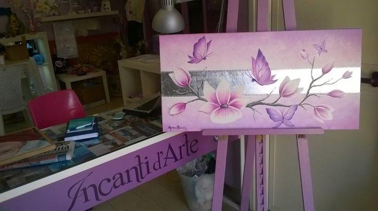 dipinto olio su tela/ oil on canvas, handpainted
