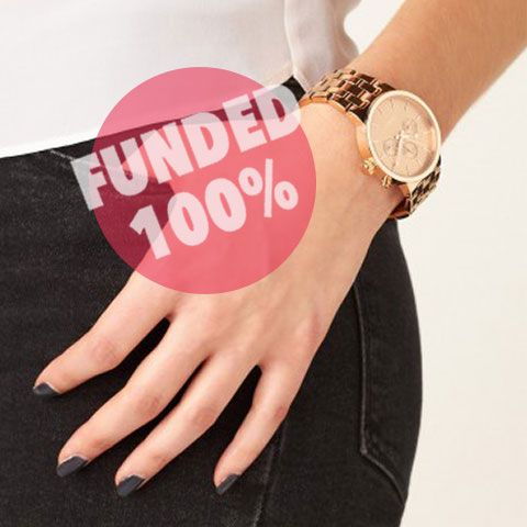 Mimco ladies rose gold watch funded on Giftling @_Mimco